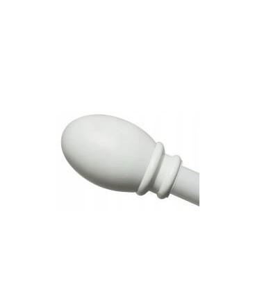 Koncovka Beluno biela Ø25 mm kus